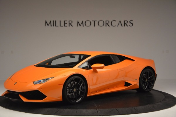 Used 2015 Lamborghini Huracan LP 610-4 for sale Sold at Maserati of Greenwich in Greenwich CT 06830 2