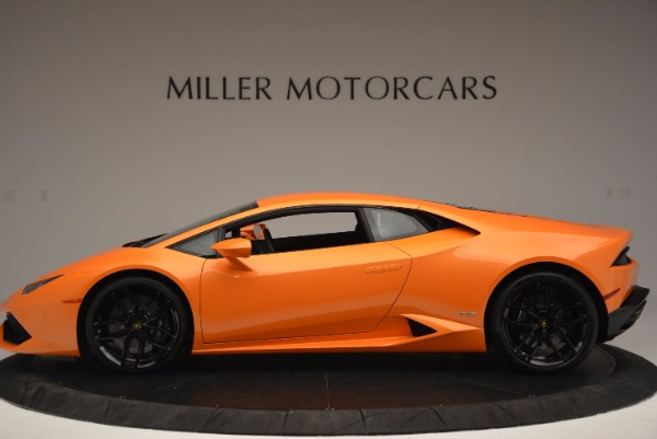 Used 2015 Lamborghini Huracan LP 610-4 for sale Sold at Maserati of Greenwich in Greenwich CT 06830 3