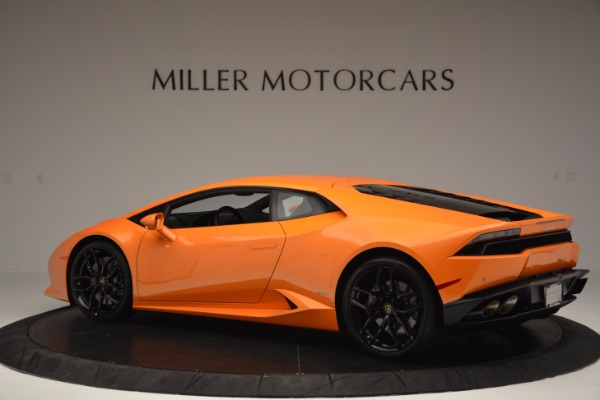 Used 2015 Lamborghini Huracan LP 610-4 for sale Sold at Maserati of Greenwich in Greenwich CT 06830 4