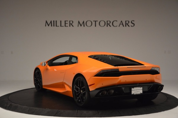 Used 2015 Lamborghini Huracan LP 610-4 for sale Sold at Maserati of Greenwich in Greenwich CT 06830 5