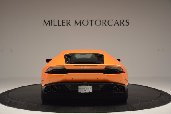 Used 2015 Lamborghini Huracan LP 610-4 for sale Sold at Maserati of Greenwich in Greenwich CT 06830 6