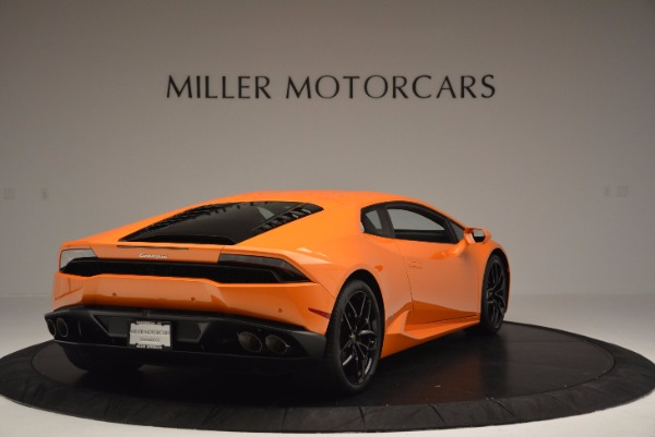 Used 2015 Lamborghini Huracan LP 610-4 for sale Sold at Maserati of Greenwich in Greenwich CT 06830 7