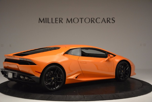 Used 2015 Lamborghini Huracan LP 610-4 for sale Sold at Maserati of Greenwich in Greenwich CT 06830 8