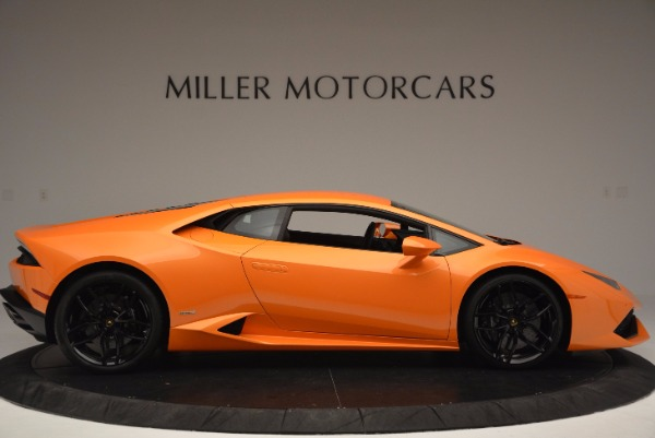 Used 2015 Lamborghini Huracan LP 610-4 for sale Sold at Maserati of Greenwich in Greenwich CT 06830 9