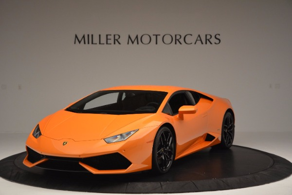 Used 2015 Lamborghini Huracan LP 610-4 for sale Sold at Maserati of Greenwich in Greenwich CT 06830 1