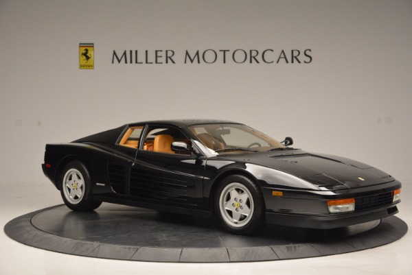 Used 1989 Ferrari Testarossa for sale Sold at Maserati of Greenwich in Greenwich CT 06830 10