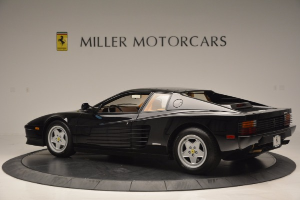 Used 1989 Ferrari Testarossa for sale Sold at Maserati of Greenwich in Greenwich CT 06830 4