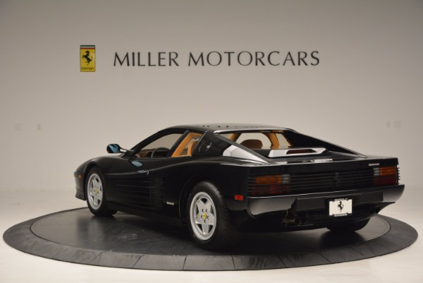 Used 1989 Ferrari Testarossa for sale Sold at Maserati of Greenwich in Greenwich CT 06830 5