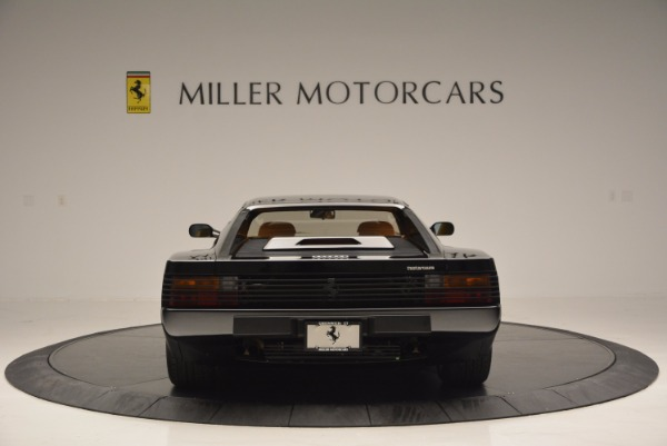 Used 1989 Ferrari Testarossa for sale Sold at Maserati of Greenwich in Greenwich CT 06830 6
