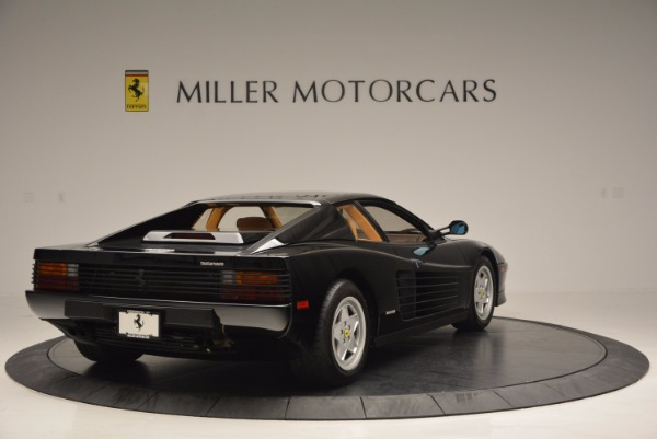 Used 1989 Ferrari Testarossa for sale Sold at Maserati of Greenwich in Greenwich CT 06830 7
