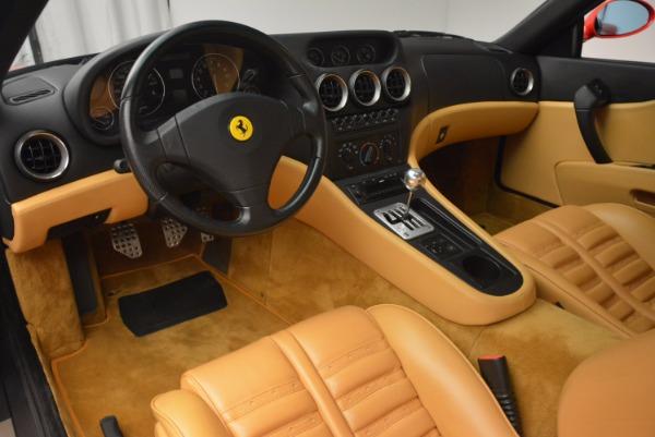 Used 2000 Ferrari 550 Maranello for sale Sold at Maserati of Greenwich in Greenwich CT 06830 13