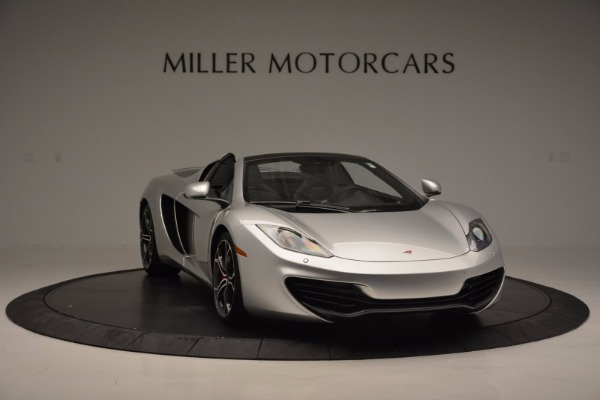Used 2014 McLaren MP4-12C Spider for sale Sold at Maserati of Greenwich in Greenwich CT 06830 11