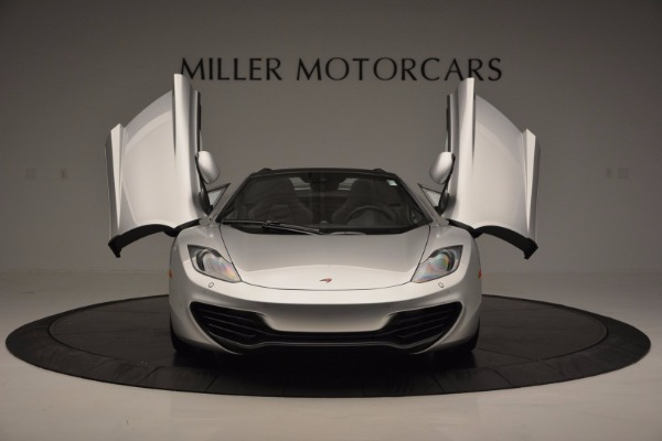 Used 2014 McLaren MP4-12C Spider for sale Sold at Maserati of Greenwich in Greenwich CT 06830 13