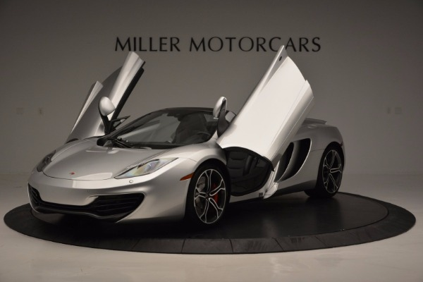 Used 2014 McLaren MP4-12C Spider for sale Sold at Maserati of Greenwich in Greenwich CT 06830 14