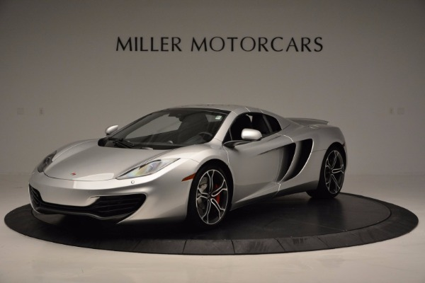 Used 2014 McLaren MP4-12C Spider for sale Sold at Maserati of Greenwich in Greenwich CT 06830 15