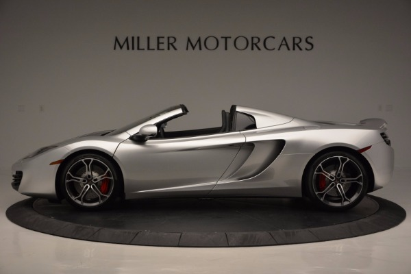Used 2014 McLaren MP4-12C Spider for sale Sold at Maserati of Greenwich in Greenwich CT 06830 3