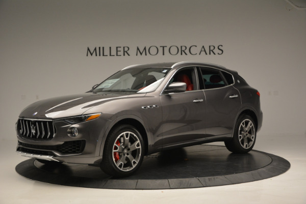 Used 2017 Maserati Levante Ex Service Loaner for sale Sold at Maserati of Greenwich in Greenwich CT 06830 2