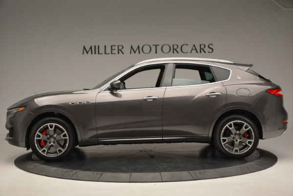 Used 2017 Maserati Levante Ex Service Loaner for sale Sold at Maserati of Greenwich in Greenwich CT 06830 3