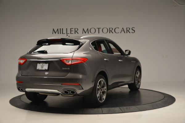 Used 2017 Maserati Levante Ex Service Loaner for sale Sold at Maserati of Greenwich in Greenwich CT 06830 7