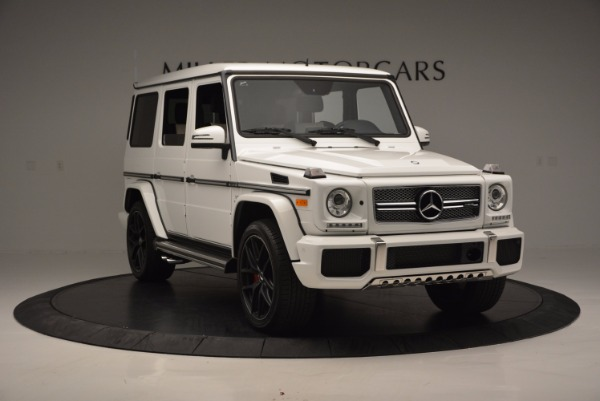Used 2016 Mercedes Benz G-Class AMG G65 for sale Sold at Maserati of Greenwich in Greenwich CT 06830 11