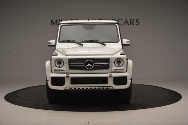 Used 2016 Mercedes Benz G-Class AMG G65 for sale Sold at Maserati of Greenwich in Greenwich CT 06830 12