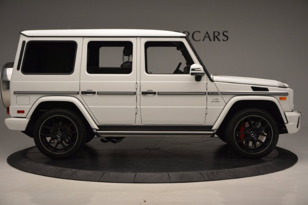 Used 2016 Mercedes Benz G-Class AMG G65 for sale Sold at Maserati of Greenwich in Greenwich CT 06830 9
