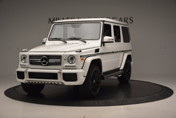 Used 2016 Mercedes Benz G-Class AMG G65 for sale Sold at Maserati of Greenwich in Greenwich CT 06830 1