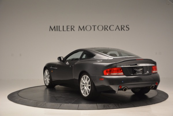 Used 2005 Aston Martin V12 Vanquish S for sale Sold at Maserati of Greenwich in Greenwich CT 06830 5