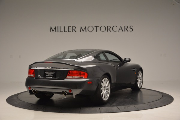 Used 2005 Aston Martin V12 Vanquish S for sale Sold at Maserati of Greenwich in Greenwich CT 06830 7