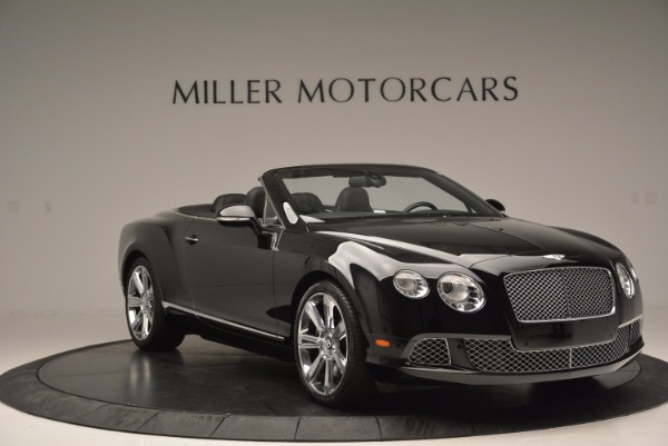 Used 2013 Bentley Continental GTC for sale Sold at Maserati of Greenwich in Greenwich CT 06830 12