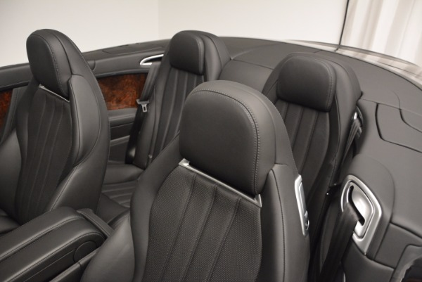 Used 2013 Bentley Continental GTC for sale Sold at Maserati of Greenwich in Greenwich CT 06830 19