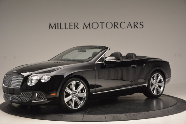 Used 2013 Bentley Continental GTC for sale Sold at Maserati of Greenwich in Greenwich CT 06830 2