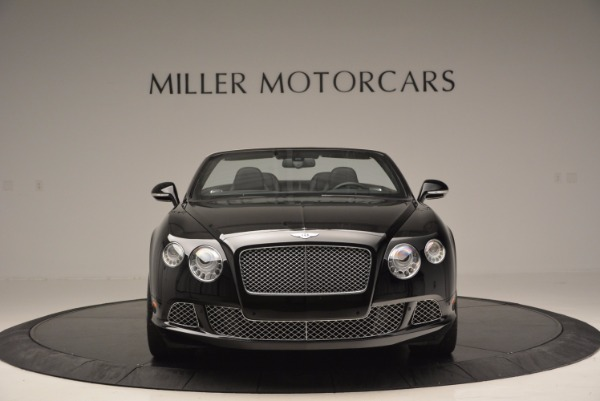 Used 2013 Bentley Continental GTC for sale Sold at Maserati of Greenwich in Greenwich CT 06830 3