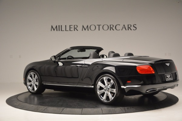 Used 2013 Bentley Continental GTC for sale Sold at Maserati of Greenwich in Greenwich CT 06830 5