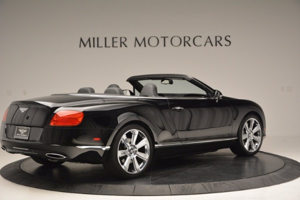 Used 2013 Bentley Continental GTC for sale Sold at Maserati of Greenwich in Greenwich CT 06830 9