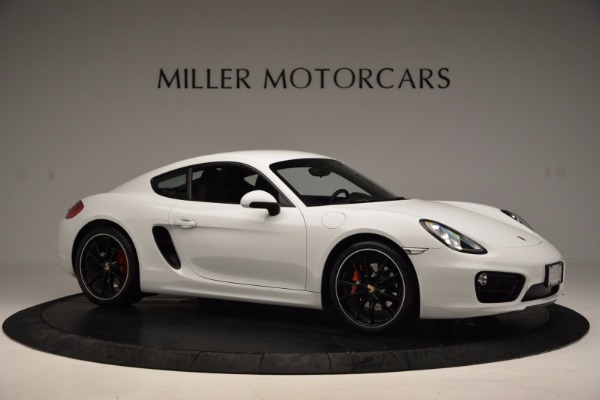 Used 2014 Porsche Cayman S for sale Sold at Maserati of Greenwich in Greenwich CT 06830 10