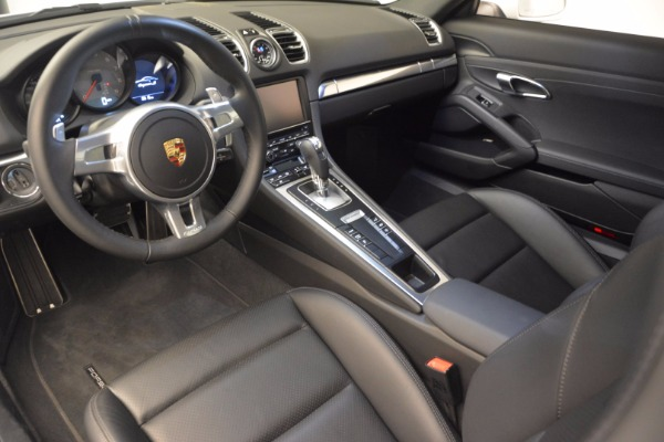 Used 2014 Porsche Cayman S for sale Sold at Maserati of Greenwich in Greenwich CT 06830 13