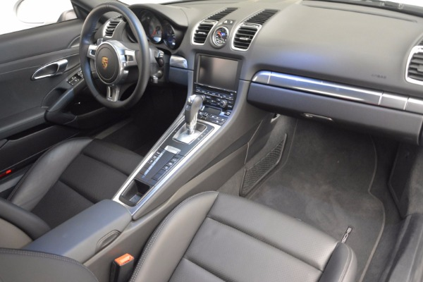 Used 2014 Porsche Cayman S for sale Sold at Maserati of Greenwich in Greenwich CT 06830 16