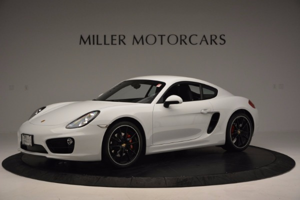 Used 2014 Porsche Cayman S for sale Sold at Maserati of Greenwich in Greenwich CT 06830 2