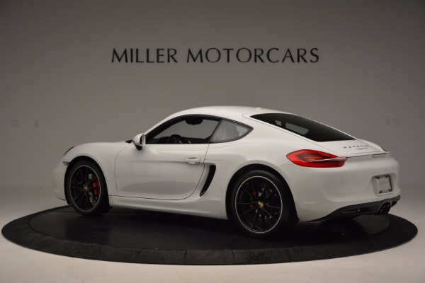 Used 2014 Porsche Cayman S for sale Sold at Maserati of Greenwich in Greenwich CT 06830 4