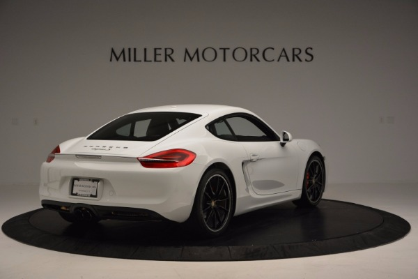 Used 2014 Porsche Cayman S for sale Sold at Maserati of Greenwich in Greenwich CT 06830 7