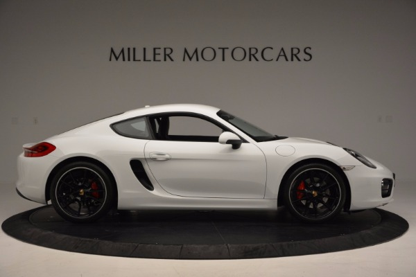 Used 2014 Porsche Cayman S for sale Sold at Maserati of Greenwich in Greenwich CT 06830 9