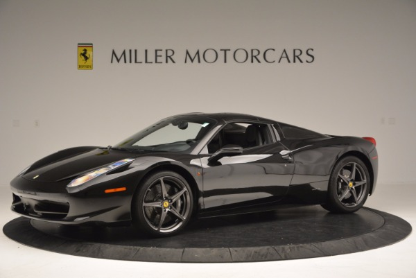 Used 2015 Ferrari 458 Spider for sale Sold at Maserati of Greenwich in Greenwich CT 06830 14