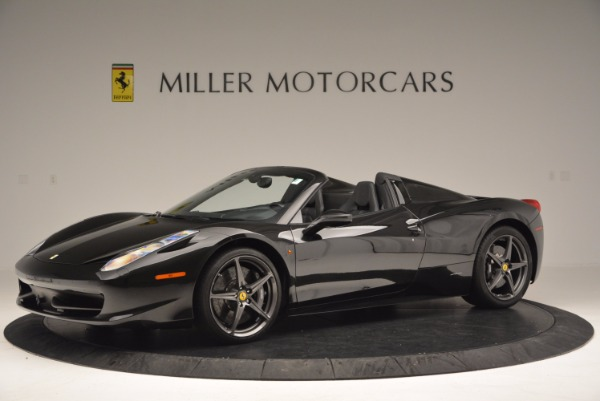 Used 2015 Ferrari 458 Spider for sale Sold at Maserati of Greenwich in Greenwich CT 06830 2