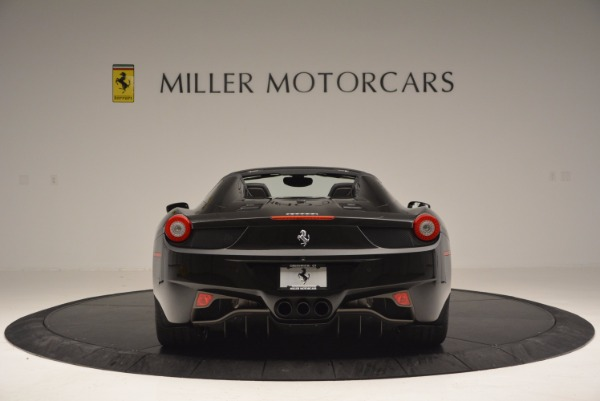Used 2015 Ferrari 458 Spider for sale Sold at Maserati of Greenwich in Greenwich CT 06830 6