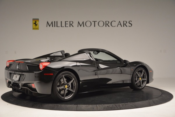 Used 2015 Ferrari 458 Spider for sale Sold at Maserati of Greenwich in Greenwich CT 06830 8