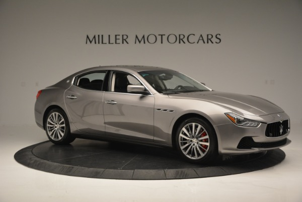 Used 2016 Maserati Ghibli S Q4  EX- LOANER for sale Sold at Maserati of Greenwich in Greenwich CT 06830 10