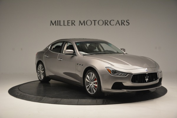 Used 2016 Maserati Ghibli S Q4  EX- LOANER for sale Sold at Maserati of Greenwich in Greenwich CT 06830 11