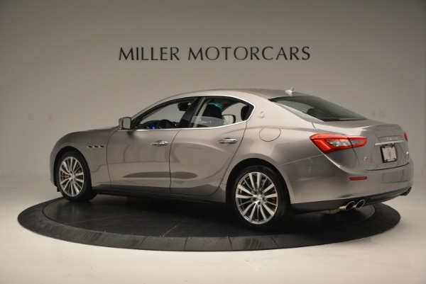 Used 2016 Maserati Ghibli S Q4  EX- LOANER for sale Sold at Maserati of Greenwich in Greenwich CT 06830 4