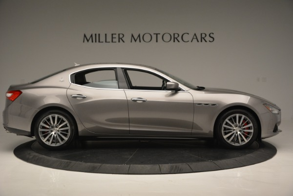 Used 2016 Maserati Ghibli S Q4  EX- LOANER for sale Sold at Maserati of Greenwich in Greenwich CT 06830 9